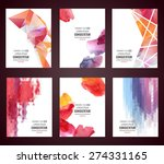 vector web and mobile interface ... | Shutterstock .eps vector #274331165