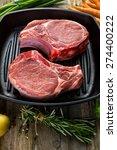 organic pork lion chops of...