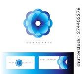 logo vector template of a... | Shutterstock .eps vector #274402376
