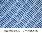 wooden basket background or... | Shutterstock . vector #274405625