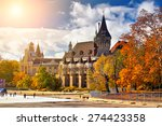 historic architectural palace... | Shutterstock . vector #274423358