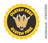 gluten free design  vector... | Shutterstock .eps vector #274425302