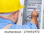 electrician  repairing  test. | Shutterstock . vector #274451972