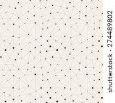 vector seamless pattern.... | Shutterstock .eps vector #274489802