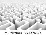 endless maze background | Shutterstock . vector #274526825