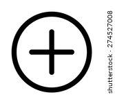 add user or add item   positive ... | Shutterstock .eps vector #274527008