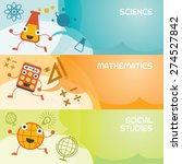 education characters banner ... | Shutterstock .eps vector #274527842