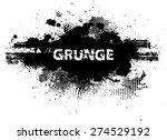 splatter paint texture .... | Shutterstock .eps vector #274529192