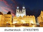 Prague Old Town Square  Tyn...