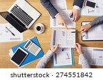 business people brainstorming... | Shutterstock . vector #274551842