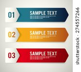 modern template design set  ... | Shutterstock .eps vector #274557266