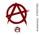 anarchy sign | Shutterstock .eps vector #274557302