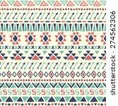ethnic seamless pattern. aztec... | Shutterstock .eps vector #274562306