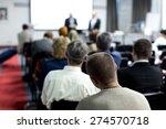 seminar  classroom  adult.   Shutterstock . vector #274570718