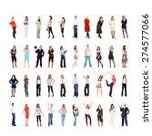 workforce concept teamwork... | Shutterstock . vector #274577066