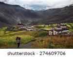 Saldang Village In Dolpo  Nepa...
