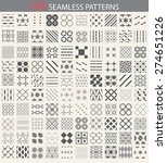 100 Different Vector Seamless...