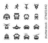 Transportation Icon Set 3 ...