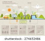 ecology infographic elements ... | Shutterstock .eps vector #274652486