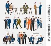 business peoples acting  in... | Shutterstock .eps vector #274658312
