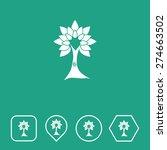 tree icon on flat ui colors...