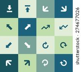 arrows icons universal set for...   Shutterstock .eps vector #274677026
