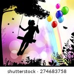 childhood | Shutterstock . vector #274683758