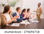 confident international...   Shutterstock . vector #274696718