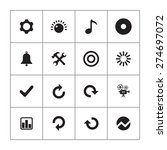 audio icons universal set for... | Shutterstock .eps vector #274697072