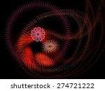 dynamic three dimensional... | Shutterstock . vector #274721222