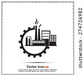 industrial icon | Shutterstock .eps vector #274726982