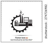 industrial icon | Shutterstock .eps vector #274726982