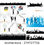 set posters for sporting events ... | Shutterstock .eps vector #274727726