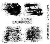 grunge elements   illustration | Shutterstock .eps vector #274743896