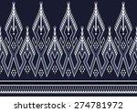 geometric ethnic pattern for... | Shutterstock .eps vector #274781972