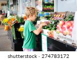 a cute child  primary school... | Shutterstock . vector #274783172