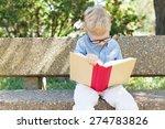 serious little boy studying ...   Shutterstock . vector #274783826