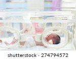 newborn baby in hospital post... | Shutterstock . vector #274794572