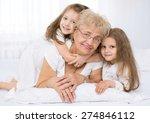 closeup  portrait of happy... | Shutterstock . vector #274846112