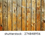 Wooden Background From Aged...