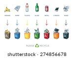 illustration of separation... | Shutterstock .eps vector #274856678