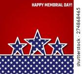 vector illustration of memorial ...   Shutterstock .eps vector #274868465