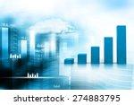 business graph   Shutterstock . vector #274883795