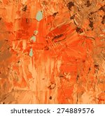 abstract hand draw oil painting ...