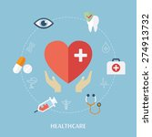 concept for medicine healthcare....   Shutterstock .eps vector #274913732
