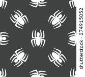 vector silhouette of spider...   Shutterstock .eps vector #274915052