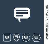 comments icon on flat ui colors ...