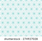 seamless mint and white vintage ... | Shutterstock .eps vector #274927028