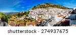 panorama of white village of... | Shutterstock . vector #274937675