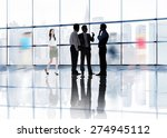 business people colleagues... | Shutterstock . vector #274945112